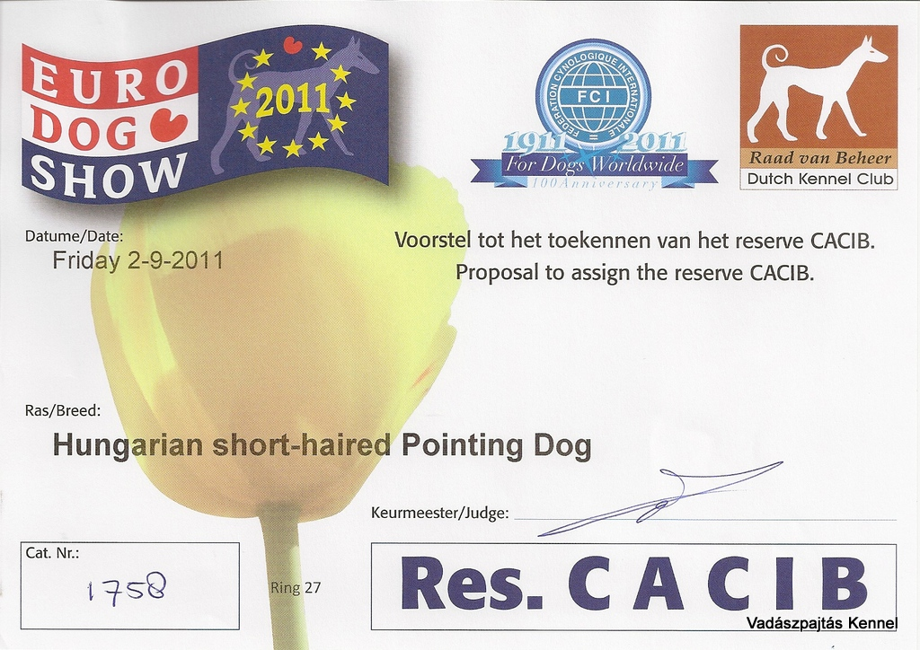 2011-09-02-fci-eurodogshow-leeuwarden-reserve-cacib-csibesz